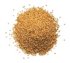 ground hemp seed