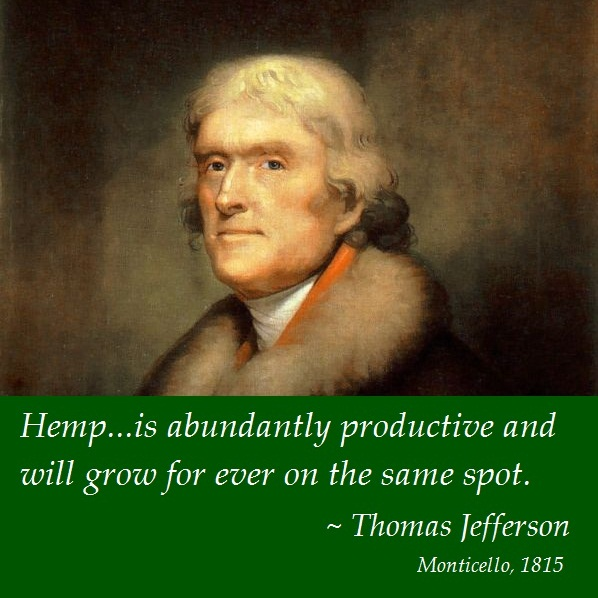 Thomas Jefferson on Hemp