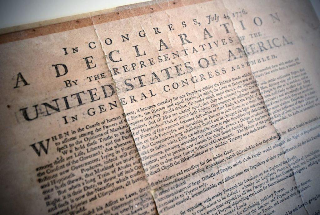 Hemp declaration of independence