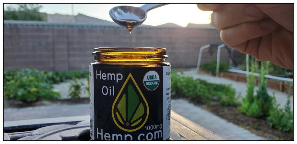 Organic CBD Hemp Oil