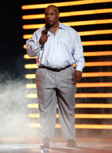 Overweight Mike Tyson